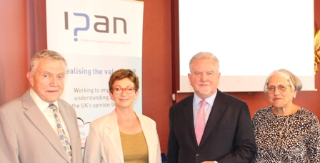 Sir Rod Aldridge the entrepreneur and philanthropist introduced the launch of the report and is pictured (centre right) with Prof. Ruth Soetendorp, Mandy Haberman and Steve Smith of the IPAN Education Group
