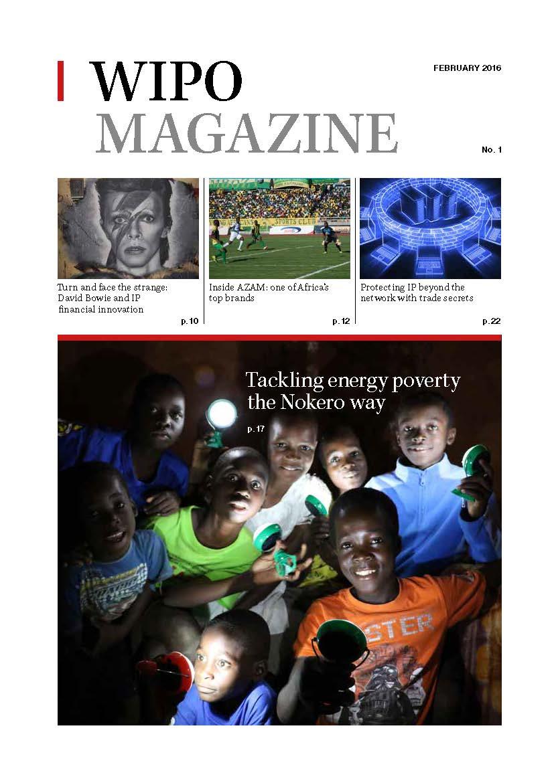 WIPO Magazine February 2016