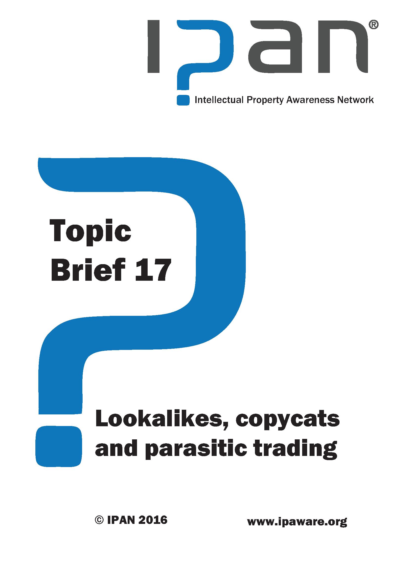 Lookalikes, copycats and parasitic trading
