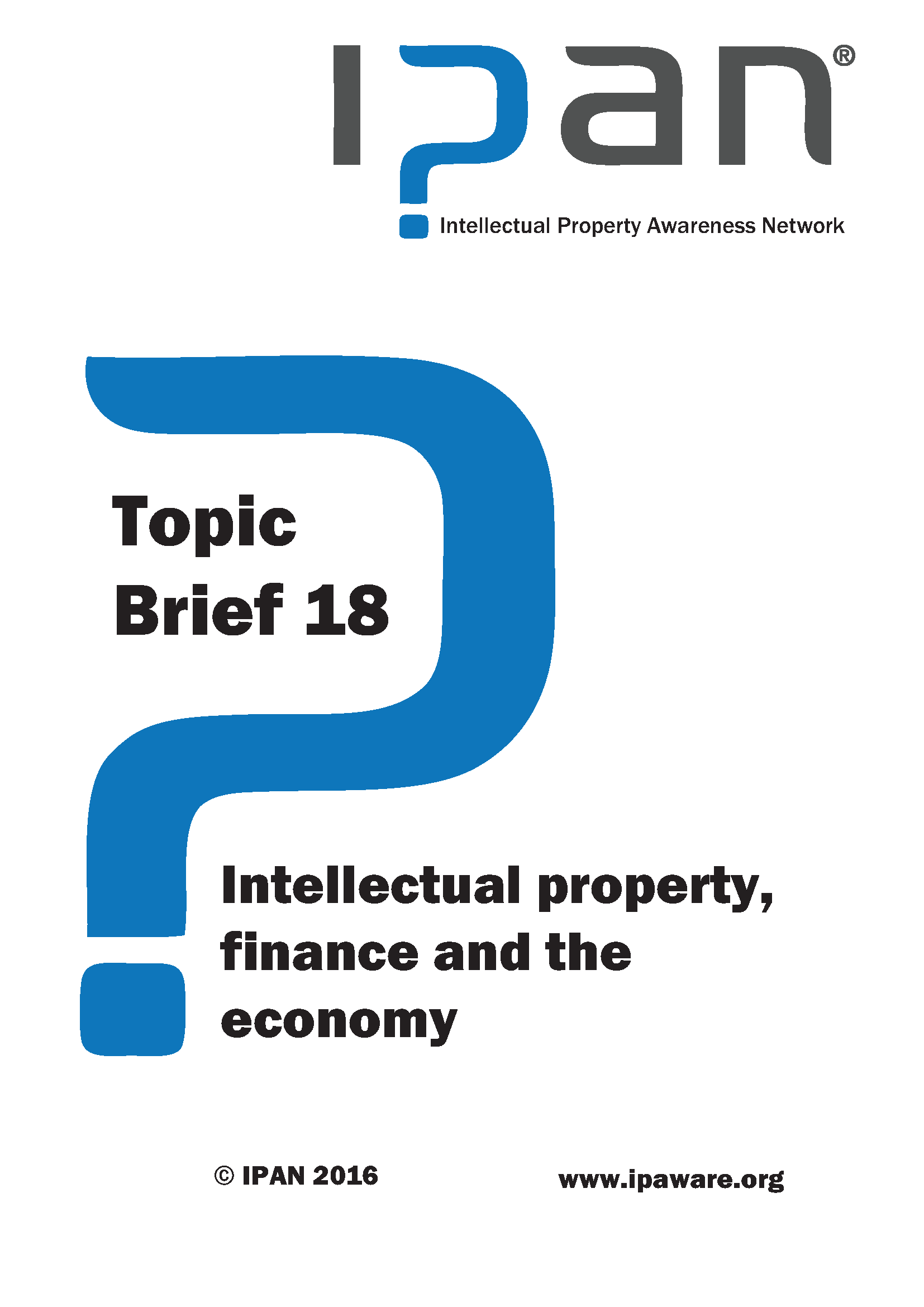 IP finance and the economy