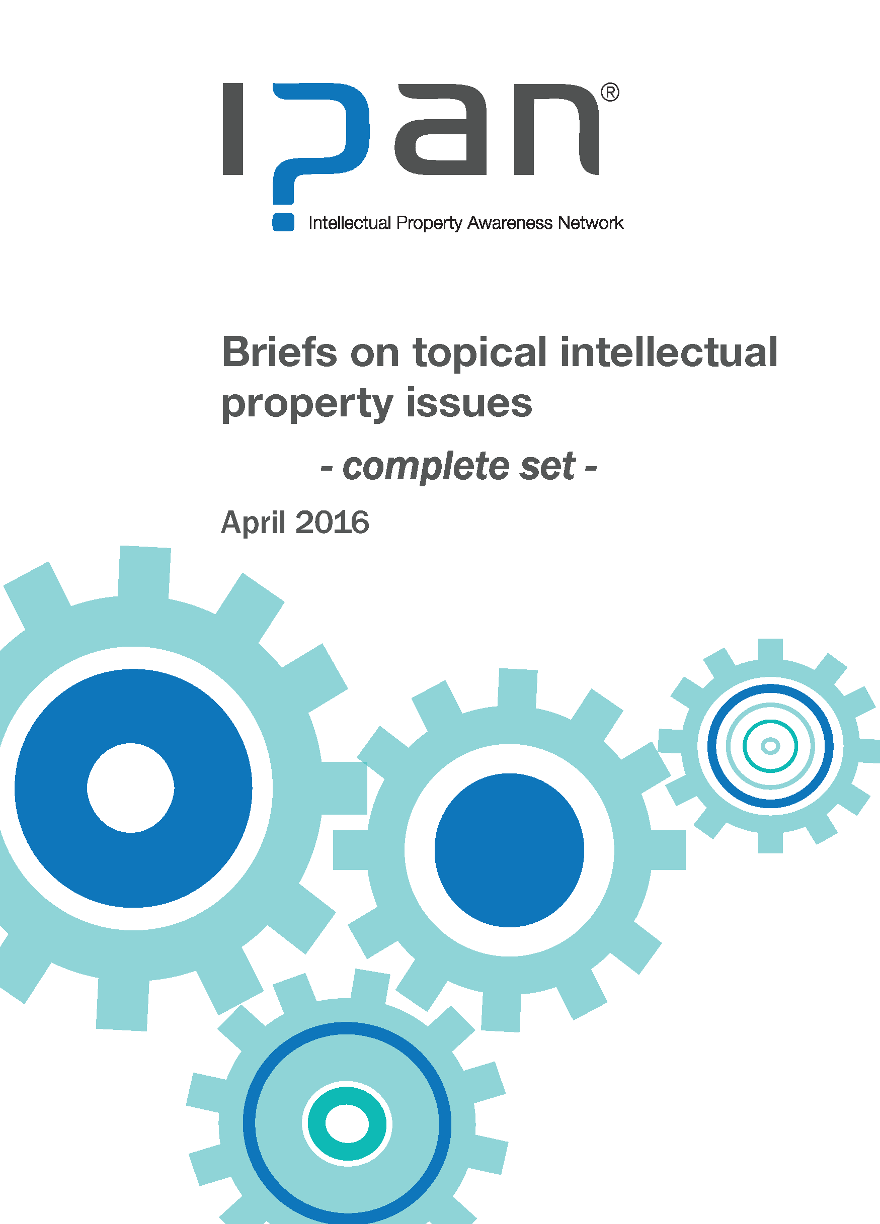 Topic briefs - full set