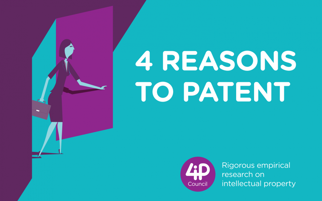 4 Reasons to Patent