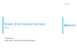 Barclays presentation image